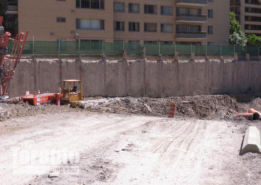 ChazYorkville construction site