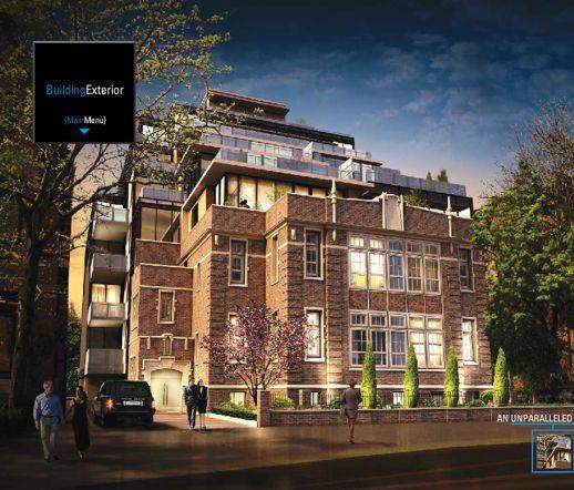 36 Hazelton Condo building rendering
