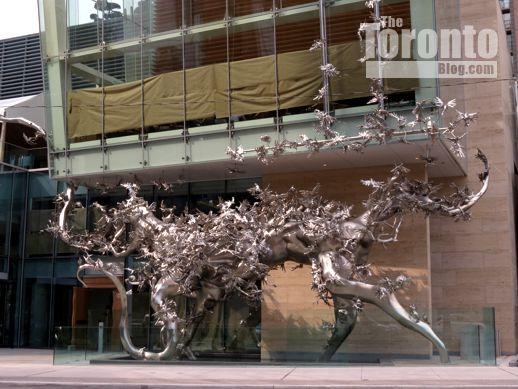 Zhang Huan sculpture Rising