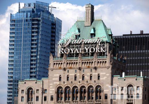 Living Shangri-la Toronto & Fairmont Royal York Hotel Toronto