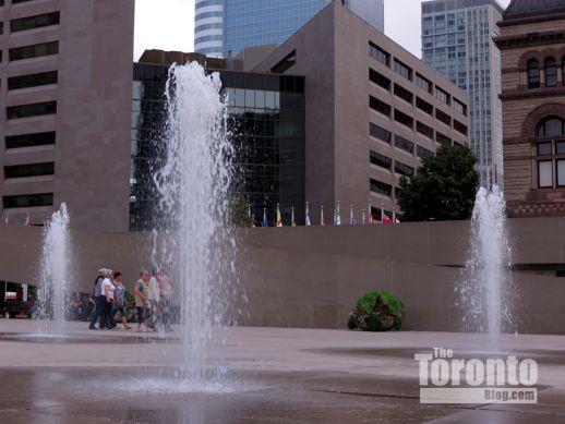 Nathan Phillips Square at Toronto City Hall September 7 2012