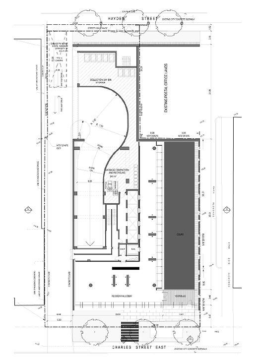 Casa 2 condominium site plan illustration