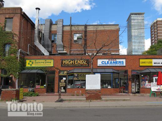 2 Dundonald Street retail shops