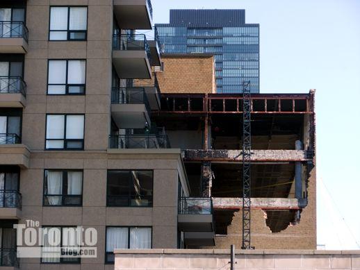 42 Charles Street East demolition