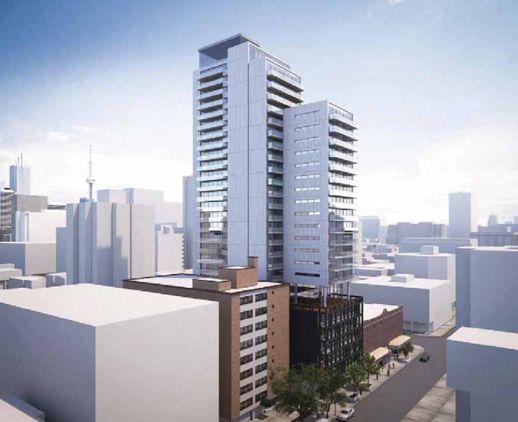 81 Wellesley Street East proposed condo