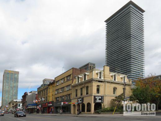 NE corner of Yonge & Isabella Streets