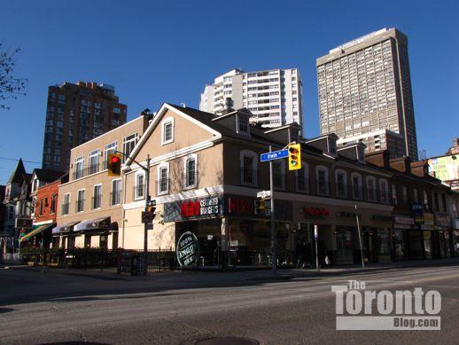 NW corner of Yonge & Irwin Streets