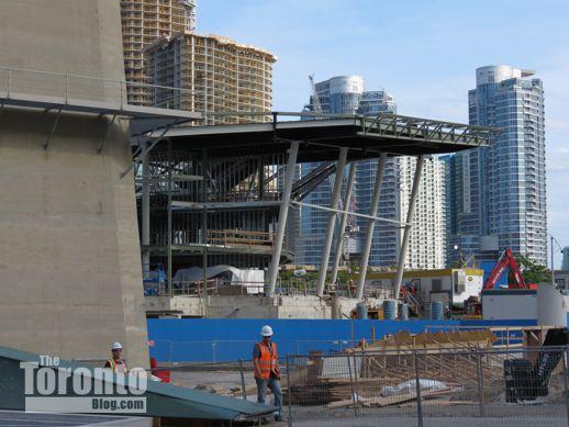 Ripley 39 s aquarium of canada construction photo update for Construction aquarium