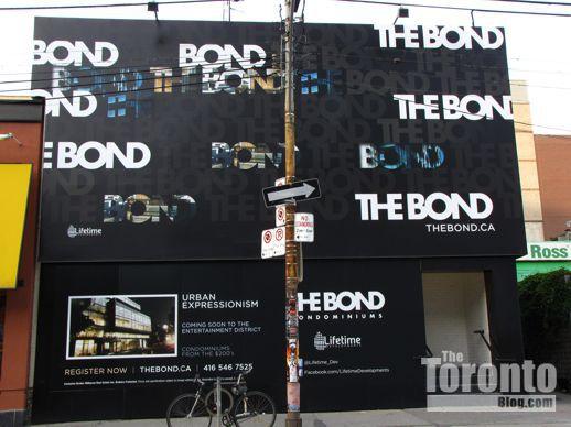 The Bond condominium sales center
