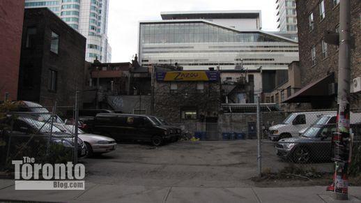 The Mercer condo site