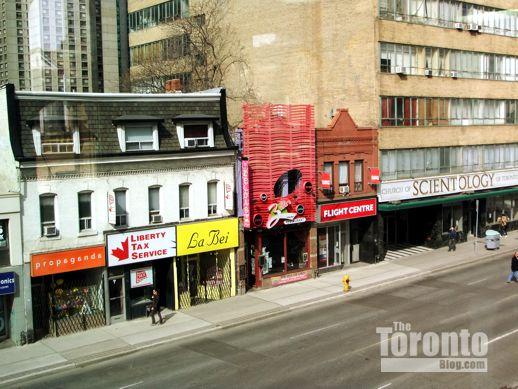 west side of Yonge Street just below St Mary Street
