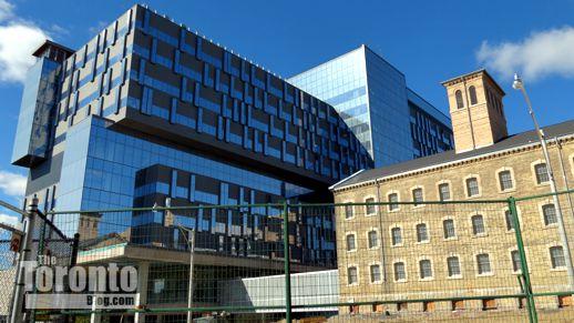 Bridgepoint hospital & the Don Jail