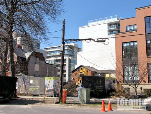 Downtown Condos site excavation