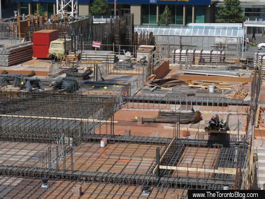 1 Bloor condo construction August 17 2013