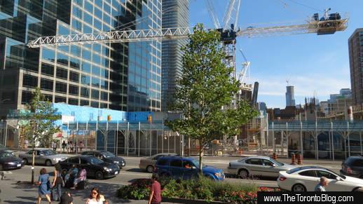 1 Bloor condo construction progress on  August 17 2013