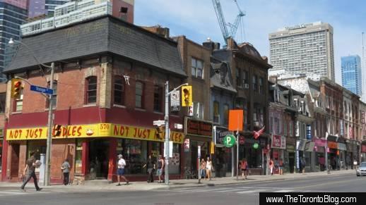 Northwest corner of Yonge & Wellesley Streets Toronto