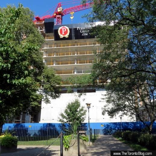 U Condos west tower construction progress