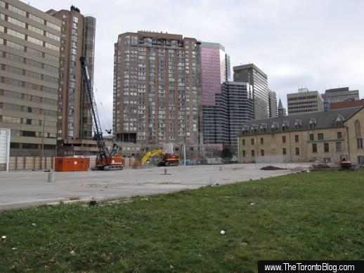 U Condos development site viewed from St Mary Street