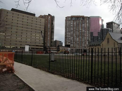 U Condos site seen on December 4 2010