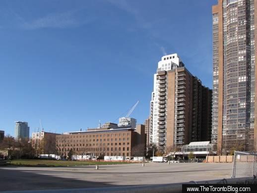 U Condos development site seen in November 2010