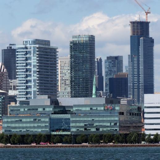 Market Wharf Spire and Aura Condos