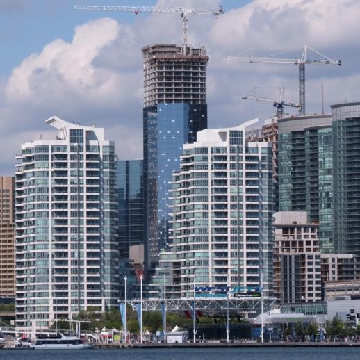 Delta Toronto Hotel  construction