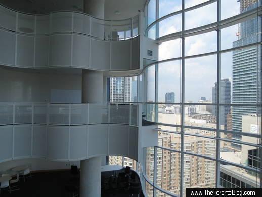 SickKids Tower atrium views