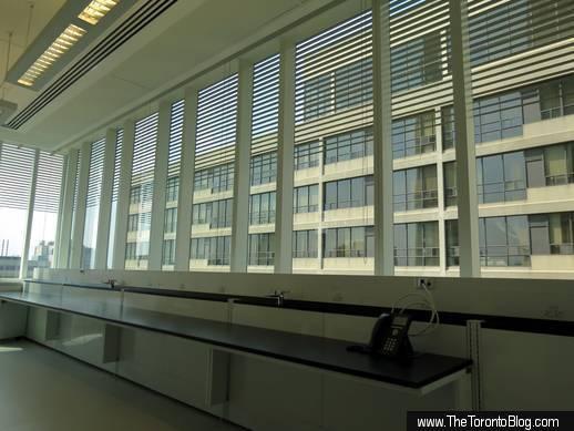 SickKids Tower lab interior