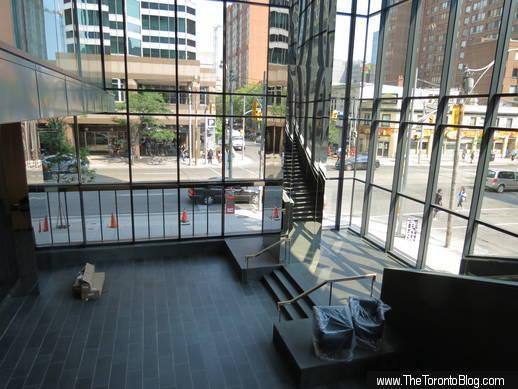 SickKids Tower lobby interior