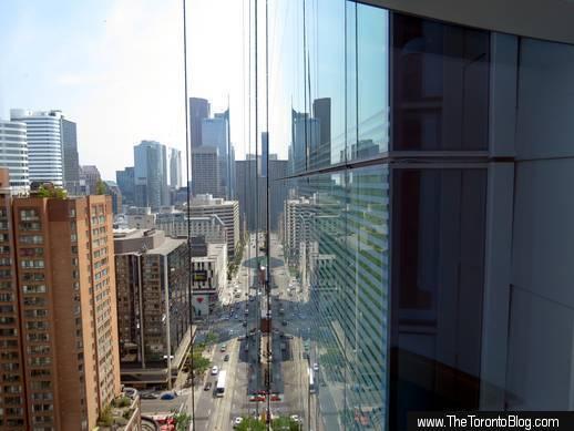 SickKids Tower atrium view