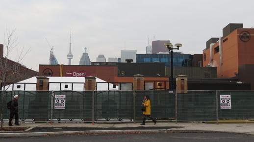 Globe & Mail Centre site