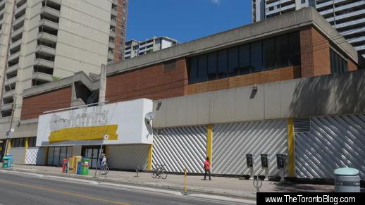 Former No Frills store 555 Sherbourne Street