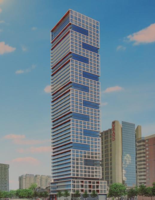 175-191 Dundas Street East proposed condo tower